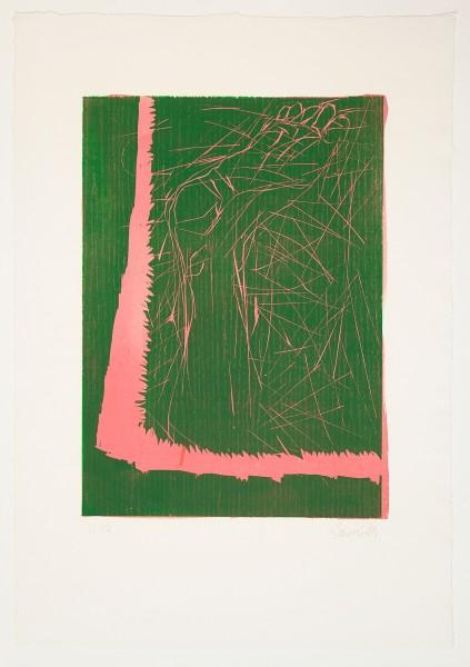 Georg Baselitz, Absprung, 1996