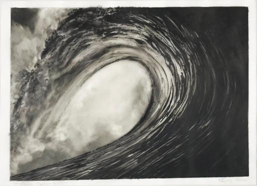 Robert Longo, Untitled Study (Pipeline, Hawaii, 2000), 2000