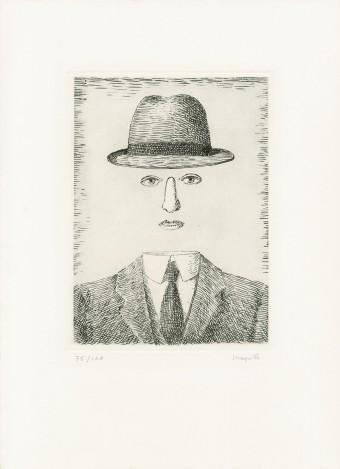 Paysage de Baucis by René Magritte