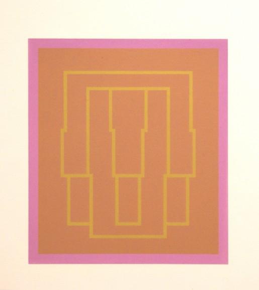 Robyn Denny, Portraits (Series A), V, 1970