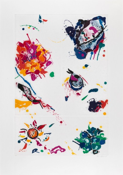 Sam Francis, Untitled, 1988