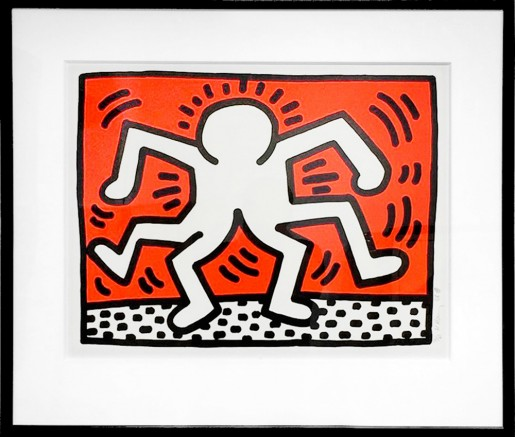 Keith Haring, Untitled 'Double Man' (Bill T. Jones), 1986