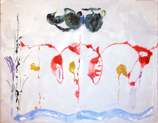 Helen Frankenthaler, Aerie, 2009