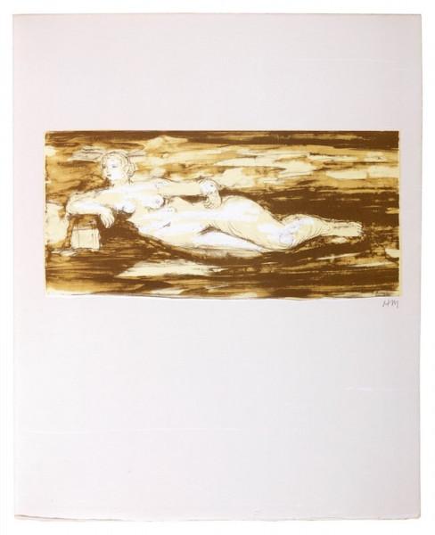 Henry Moore, Femme Allongée, 1975