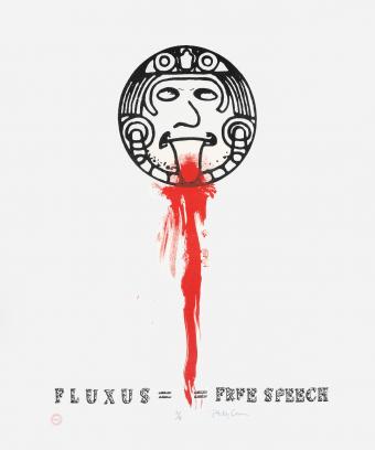 Fluxus Free Speech by Philip Corner