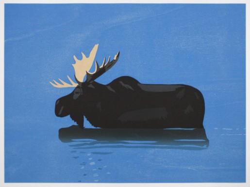Alex Katz, Moose, 2013