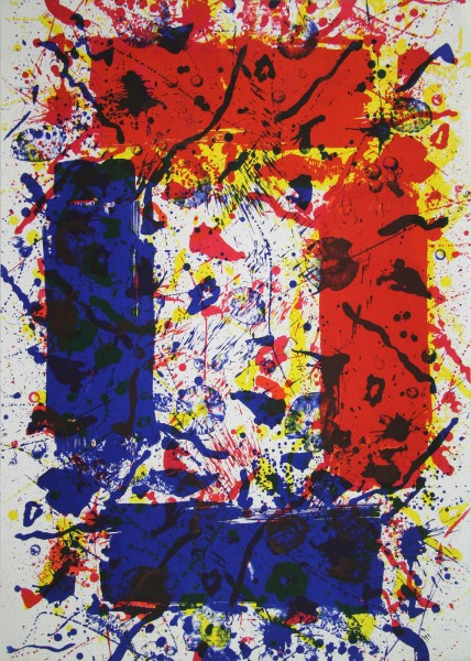 Sam Francis, Untitled, 1982