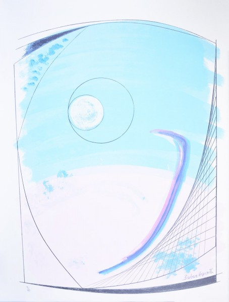 "Barbara Hepworth, Winter Solstice, from the Portfolio ""Opposing Forms"", 1970"
