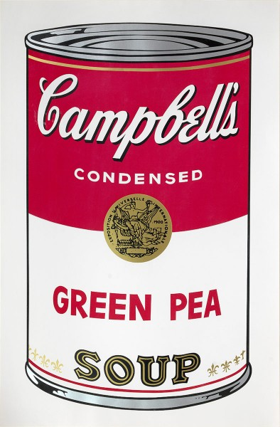 "Andy Warhol, Green Pea (FS II.50), from the Portfolio ""Campbell's Soup I"", 1968"