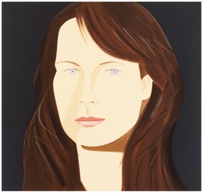 Sophia (Holman) by Alex Katz