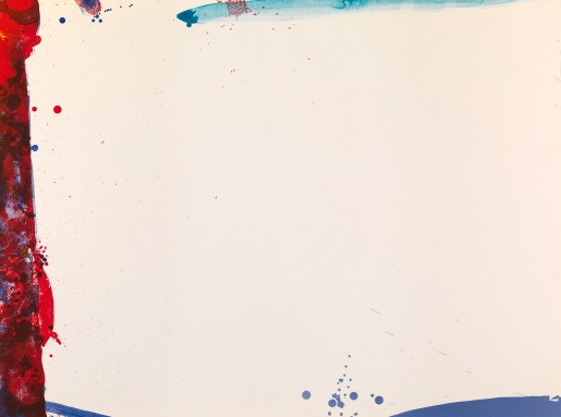 Sam Francis, Chinese Wall, 1969
