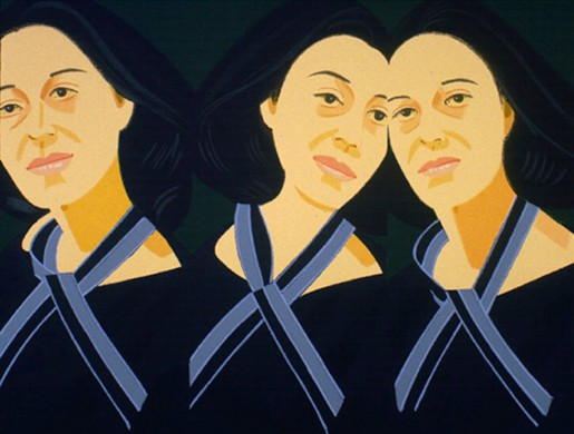 Alex Katz, Grey Ribbon, from the Alex And Ada Suite, 1980