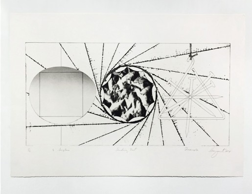 James Rosenquist, 1/2 Sunglasses, Landing Net, Triangle, 1974