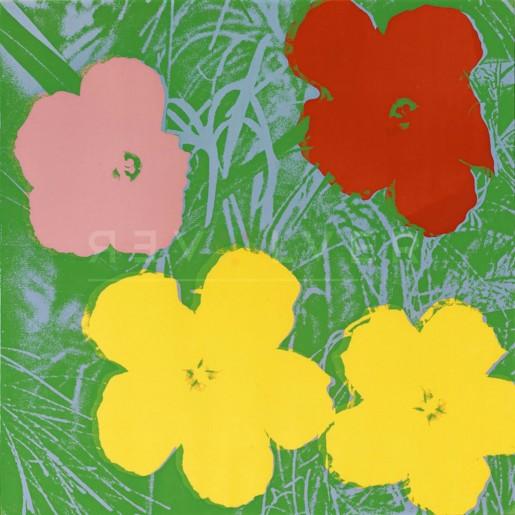 Andy Warhol, Flowers (FS II.65), 1970