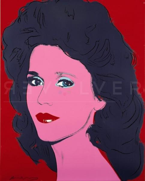 Andy Warhol, Jane Fonda (FS IIB.268), 1982