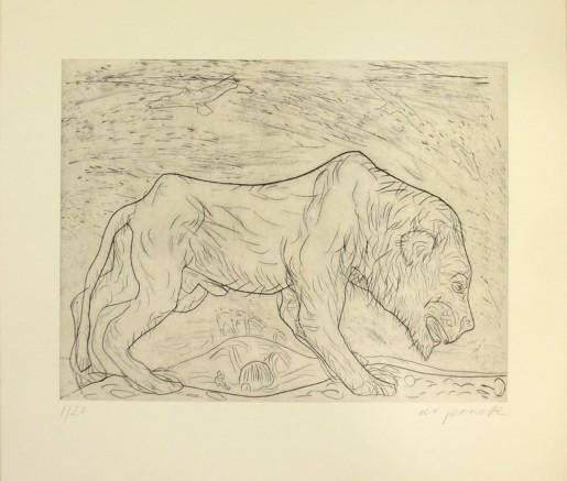 A.R. Penck, Löwe 1, 1988