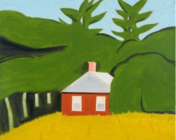 Red House by Alex Katz