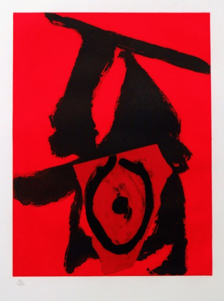 Robert Motherwell, The Red Queen, 1989