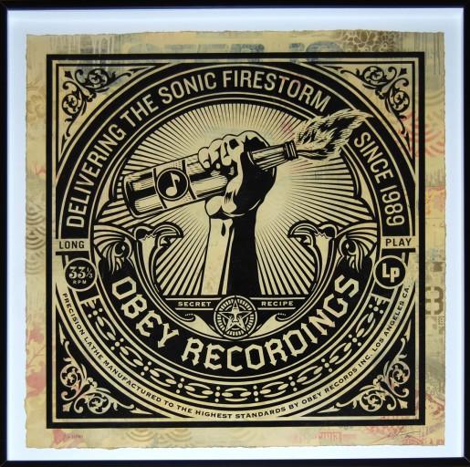 Shepard Fairey, Sonic Firestorm, 2013