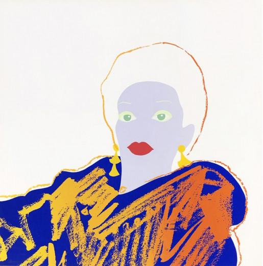 Andy Warhol, Ads: Blackglama (Judy Garland) FS II.351, 1985