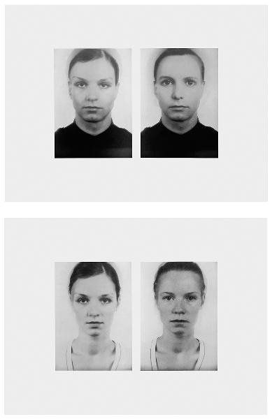Thomas Ruff, Andere Doppelportraits, 1996