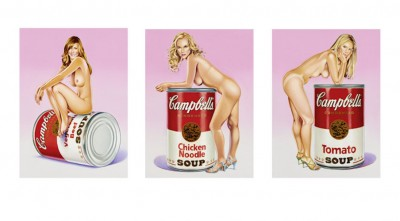 Campbell's Soup Blondes by Mel Ramos