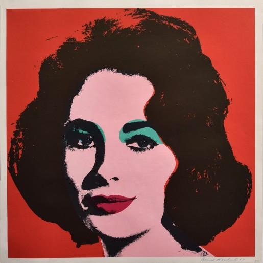 Andy Warhol, Liz (FS II.7), 1964