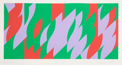 Bridget Riley, About Lilac, 2007