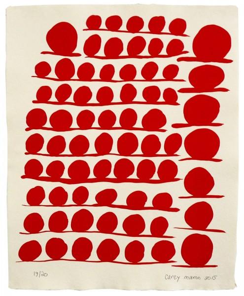 Carey Maxon, Influence Schematic 02, 2015