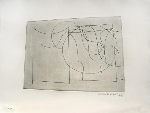 Ben Nicholson, flowing forms, 1967