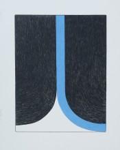 Print (Franza) - Blue