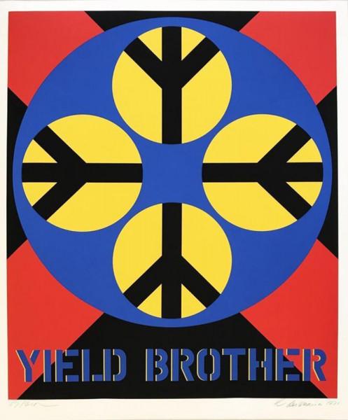 Robert Indiana, Decade (Yield Brother), 1971