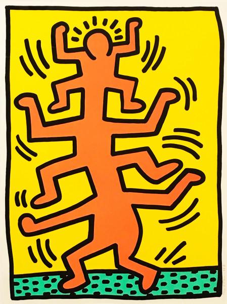 Keith Haring, Growing #1, 1988