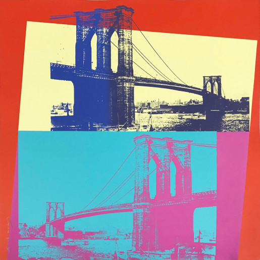 Andy Warhol, Brooklyn Bridge (FS II.290), 1983