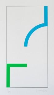 Sans Titre (Bleu/Vert)