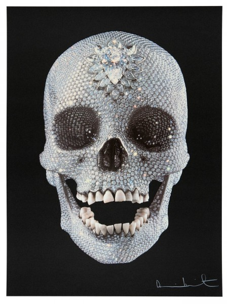 Damien Hirst, For the Love of God, 2012