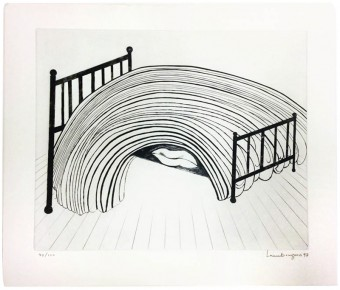 Bed by Louise Bourgeois