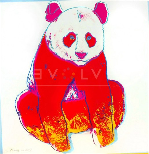 "Andy Warhol, Giant Panda (FS II.295), from the Portfolio ""Endangered Species"", 1983"