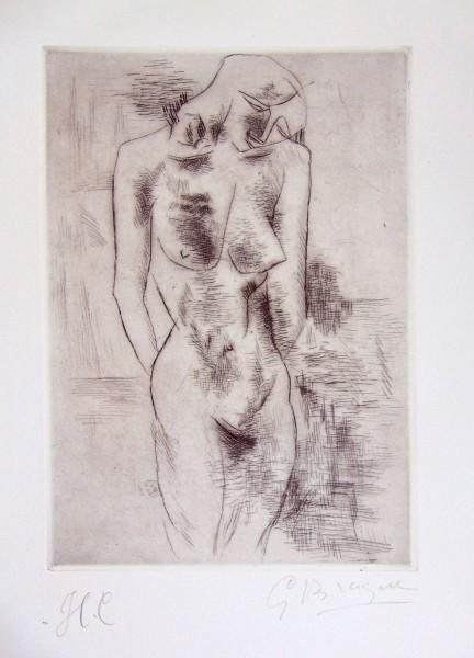 Georges Braque, Nude Study | Etude Nu, 1907/08