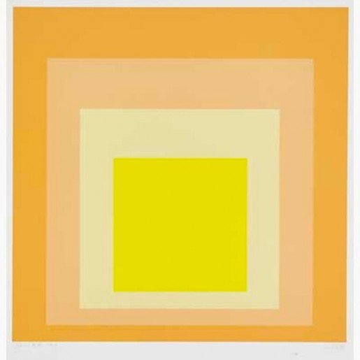 Josef Albers, SK-ED, from Homage To The Square, 1972