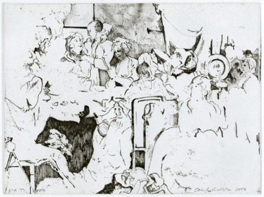 Cecily Brown, Rose Tavern, 2004