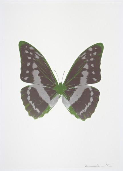 Damien Hirst, The Souls III - Gunmetal/Silver Gloss/Leaf Green, 2010
