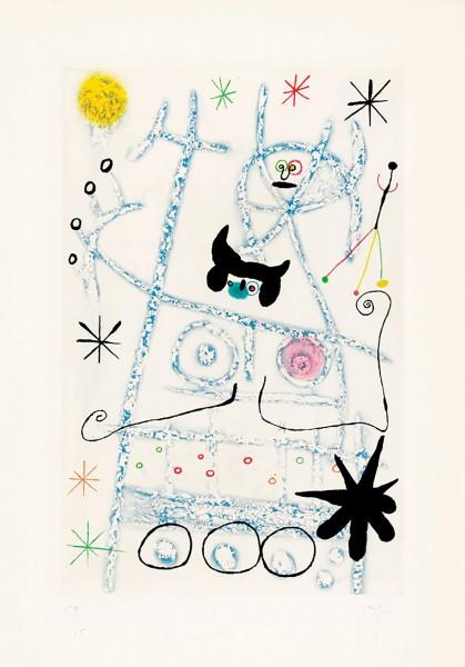 Joan Miró, Les Forestiers, 1958