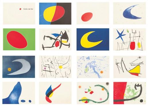 Joan Miró, Càntic del Sol (Franz von Assisi), 1975
