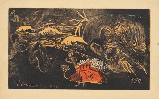 Paul Gauguin, L'Univers Est Crée, 1893-1894