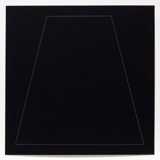 Sol LeWitt, Six Geometric Figures - Trapezoid, 1977