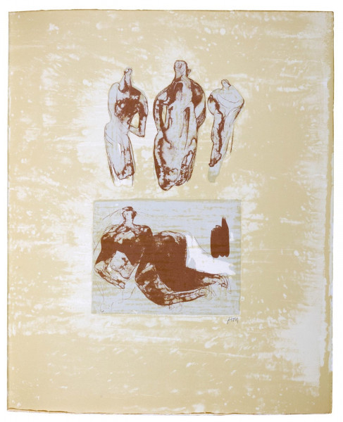 Henry Moore, Ideas from a Sketchbook, 1975