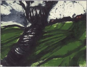 Verdant Field I by Hughie ODonoghue