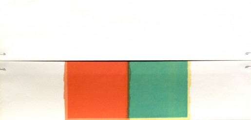 Richard Smith, Pieces of Eight (red and green squares), 1977