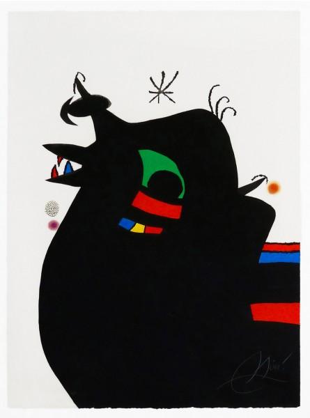 Joan Miró, The Sargeant | Le Maréchal des Logis, 1978